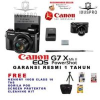CANON POWERSHOT G7X MARK II DIGITAL CAMERA - CANON G7X