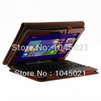 [globalbuy] For Asus Transformer Book T100TA T100 Leather Keyboard Portfolio Stand Case Co/2299171