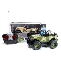 Mainan Mobil RC Jeep Army - Truck Super Power No.6144 sj0075