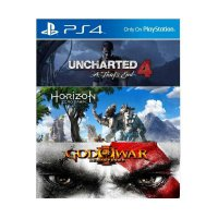 Uncharted 4 PS4 Horizon Zero Dawn PS4 God Of War 3 PS4 PS Plus 3 Bulan