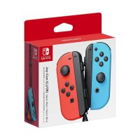Nintendo Joy Con Switch - Neon Red and Blue