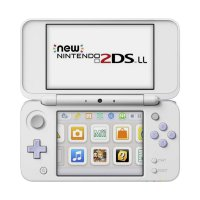 Nintendo 2DS LL CFW 32GB Game Console - White Lavender [Full Games]