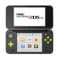 Nintendo 2DS LL CFW 32GB Game Console - Black Lime [Full Games]