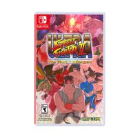 Nintendo Switch Ultra Street Fighter II : The Final Challengers DVD Game