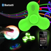 Promo Rekomendasi Fidget Spinner Led Mini Bluetooth Speaker Music Diskon speaker aktif / speaker super bass