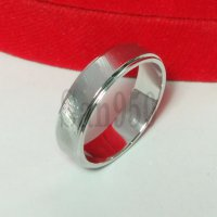 cincin emas putih single R4629