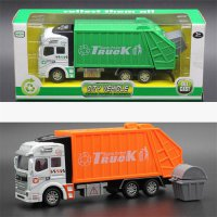 [globalbuy] 2 Style Cars Truck Popular Car Model Toys For Children Green Orange Cheap Toy /4554359