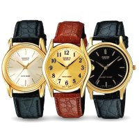 JAM TANGAN CASIO ORIGINAL Leather Woman Watch & Unisex Watch LTP MTP 1093 1094 1096
