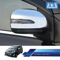 New Agya 2017 Cover Spion Depan JSL Mobil / Mirror Cover Chrome