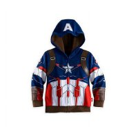 Jaket Anak Superhero - Iron Man, Captain America, Spide