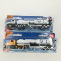[globalbuy] SIKU Low Loader With Rocket Model Toy Simulating Truck Toy Car Toys For Childr/4452727