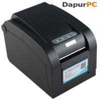 [Premium] Thermal Barcode Printer Zebra [Xprinter XP-350B Black]