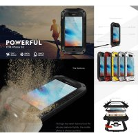 iPhone 5 - 5S - SE Love Mei Powerful Case Casing Cover