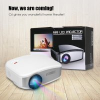 Cheerlux C6 Mini LED LCD Projector + TV