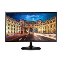 Monitor LED Samsung C24F390FHEX 24 inch Curved
