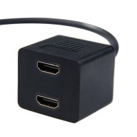 HDMI Splitter Gold Plated 0.3m