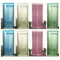 Tirai Pintu Magnet Anti Nyamuk/ magnetic curtain magic mesh pengusir