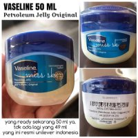 50 ML ] Vaseline 50ml Original / Petroleum Jelly