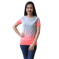 Kaos Olahraga Wanita - Sports Tee Woman - Kaos Gym,Senam,Jogging,Travelling,Yoga,Fitness TM18