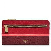 Fossil Preston RFID Clutch – Crimson, SL 7273933