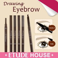 DRAWING EYEBROW - ETUDE House ★ Eye Brow + Brush (Pensil + Sikat/Kuas) ★