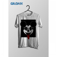 Mickey Kiss Cartoon Series Original Gildan