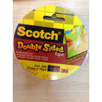 Double Tape - Scotch 3M - cat 200 double sided tape 12 mm x 10 y