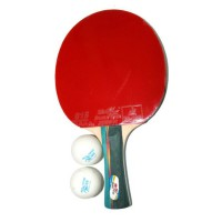 Double Fish Bat Tenis Meja 3A-C + 2 Bola