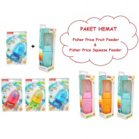 Paket Hemat Fisher Price Fruit Feeder dan Squeeze Feeder Jaring Buah