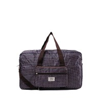 London Berry by HUER - Iris Packable Travel Bag Large Diamond Pink