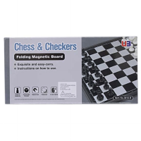 CATUR LIPAT MAGNETIC - CHESS AND CHECKERS - BEST BUY