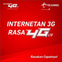 Telkomsel Flash Pada Jaringan Data 4G LTE ( Total Kuota Antara 360 - 800 MB, Aktif 30 Hari ) STG25