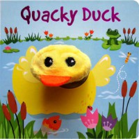 [HelloPanda] Quacky Duck Board Book with Finger Puppet