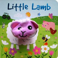[HelloPanda] Little Lamb Board Book with Finger Puppet