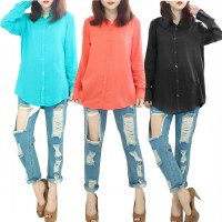french!longsleeve womenblouse