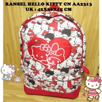 Ransel Hello Kitty Dewasa AA2313 Import Sanrio License 40thAnniversary