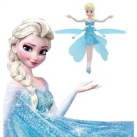 Flying Frozen elsa boneka terbang sensor doll peri