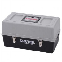 SHUTER TB-104 PROFESSIONAL TOOL BOX 4 LAYERS 30KG BLACK