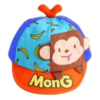 Topi Anak Monkey (Blue)