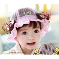Topi Anak Pot Girl (Pink)