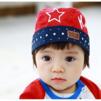 Topi Bayi 5 Star Pirate (Red)