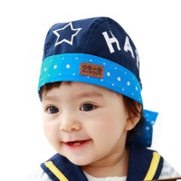 Topi Bayi 5 Star Pirate (Blue)