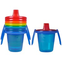 The First Years Y4421 Spill Proof Trainer Cups/Gelas bayi