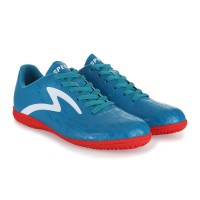 SEPATU FUTSAL SPITFIRE IN - SCUBA BLUE/EMPEROR RED/WHITE (100% ORIGINAL)