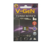 V-Gen Kartu Memory 8Gb Class 10 Vgen Micro SD 8 GB Turbo