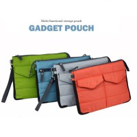 Gadgets Pouch Storage Multifungsi untuk Digital Products tablet Organizer Bag in Bag