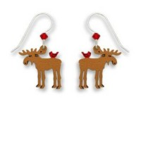 [macyskorea] Sienna Sky Moose with Cardinal Earrings 1482/16211925