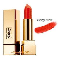 YSL ROUGE PURE COUTURE SATIN RADIANCE LIPSTICK COLOUR74
