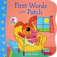 [HelloPanda] First Words with Patch Board Book