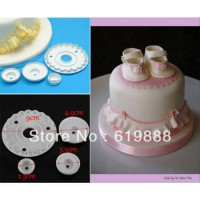 [globalbuy] A125 Garrett Frill Cutters Dies Cookie Mould The Circles Fondant Cake Decorati/942230